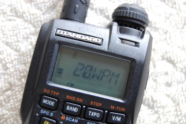 VX-3 CW Speed