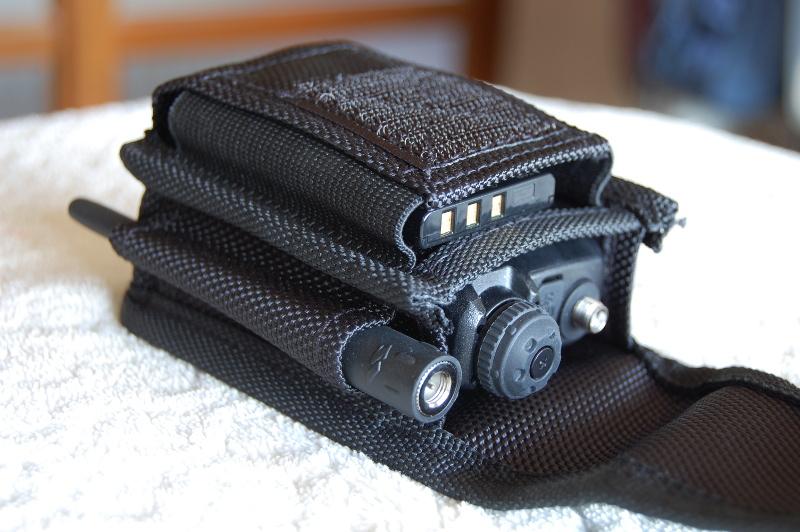 VX-3 into Camera Case