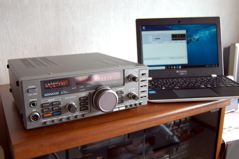 RTTY QRV on TS-680V