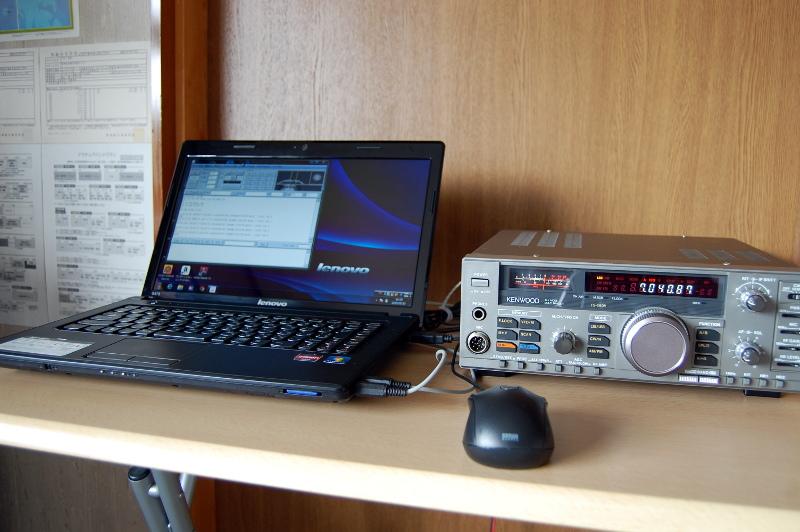 RTTY on TS-680V